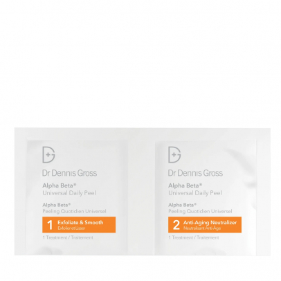 Alpha Beta Daily face Peel Universal 2 steps- Packettes