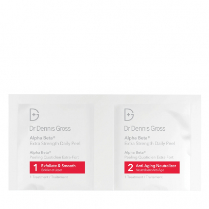 Alpha Beta Face Peel Extra Strength Formula 2 steps- Packettes