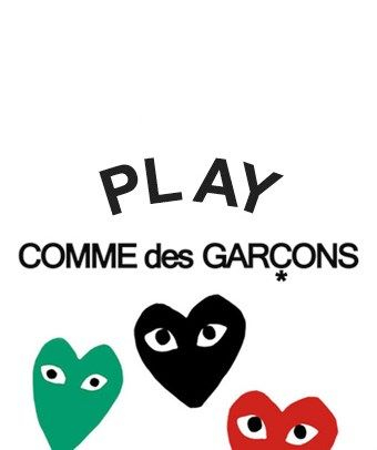 Comme des Garcons PLAY samples