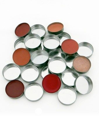 10-pc mini round metal pans in the group Tools and Brushes / Palettes at COW parfymeri AB (00138)