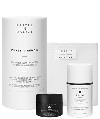 Erase & Renew- The Double Cleansing system